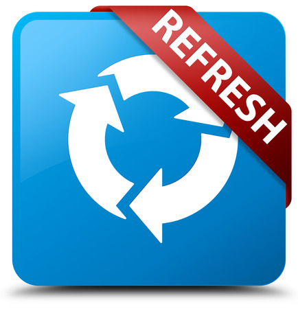 Refresh Button blau
